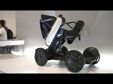 Whill Model Ci mobility chair goes the distance