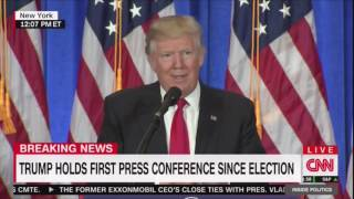 Repeat youtube video Mediaite: 'You Are Fake News!': Trump and CNN's Jim Acosta Get Into Shouting Match at Presser