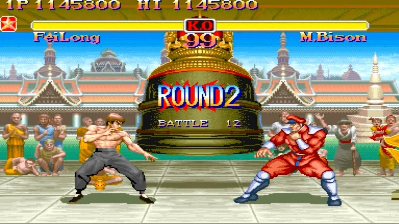 street fighter 2 x how to change turbo arcade