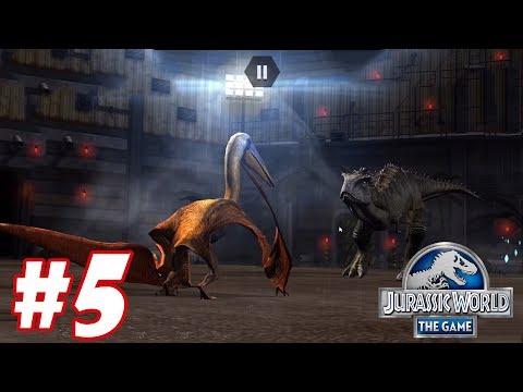 ALANQUA vs CARNOTAURUS : Trò chơi nuôi khủng long đánh nhau - Jurassic World The Game #5