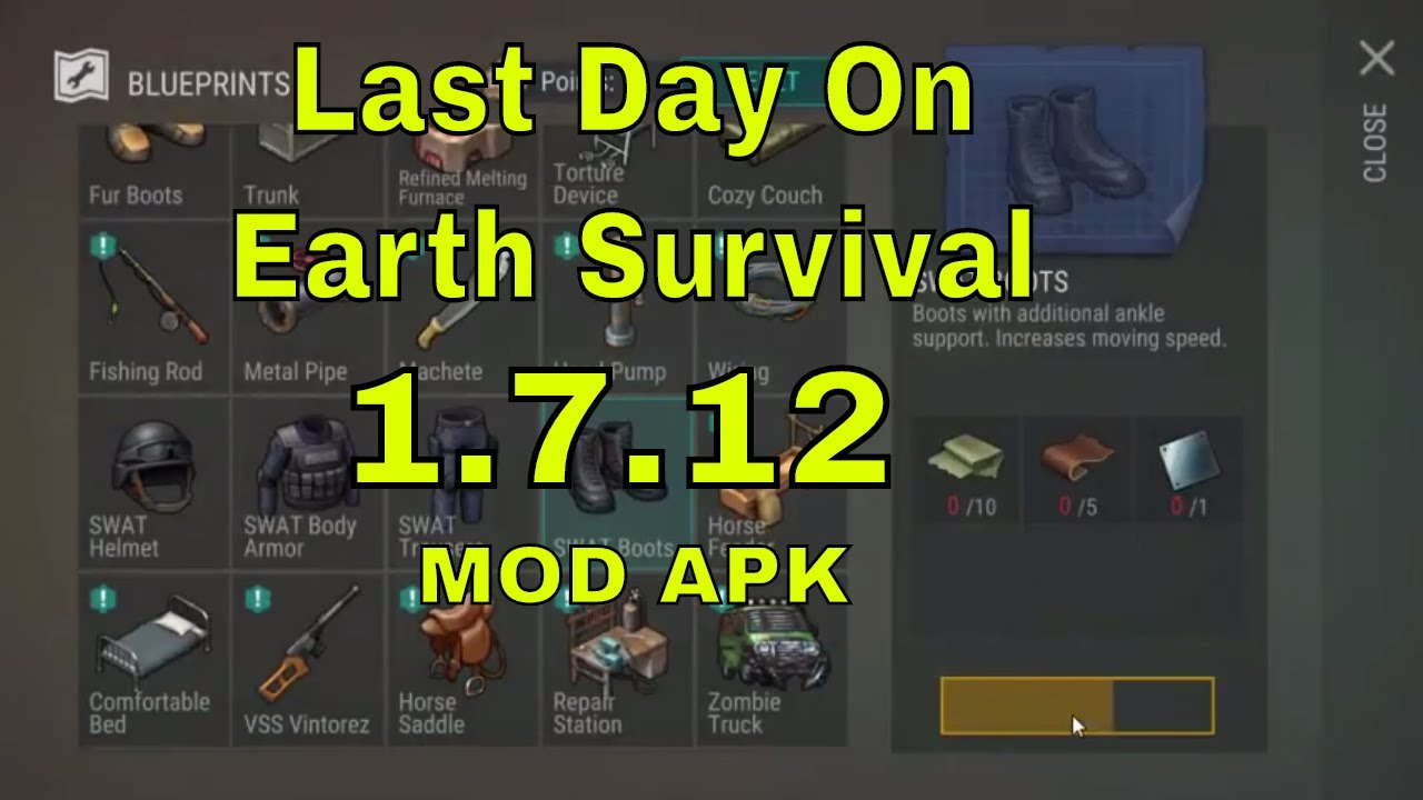 LAST DAY ON EARTH SURVIVAL MOD APK 1.7.12 NEW UPDATE HACK & CHEATS DOWNLOAD ANDROID & iOS 2018  #Smartphone #Android