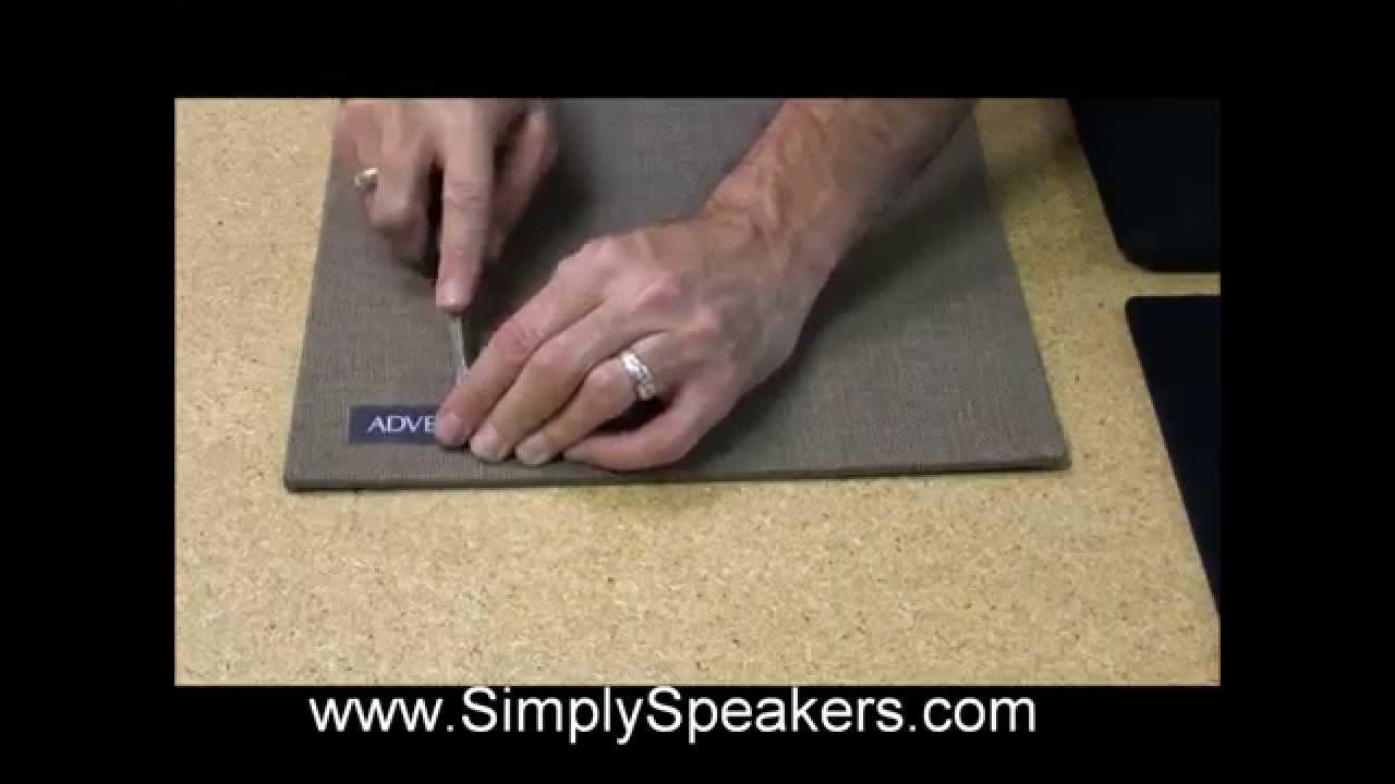 Speaker Repair Instructions - Speaker Grill Cloth Replacement