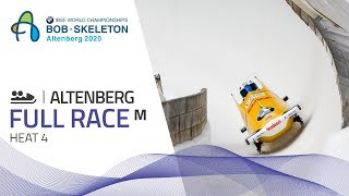 Altenberg | BMW IBSF World Championships 2020 - 2-Man Bobsleigh Heat 4 | IBSF Official