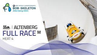Altenberg | BMW IBSF World Championships 2020 - 2-Man Bobsleigh Heat 4 | IBSF Official