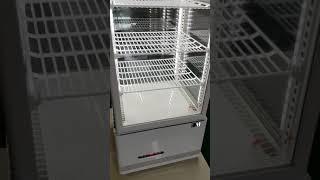 소형냉장쇼케이스 사면유리 입니다.