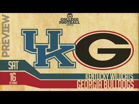 Georgia vs Kentucky - Preview, Prediction & Computer Model - College Football 2021