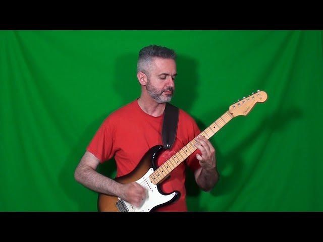 SCOTT HENDERSON's middle solo on TORE DOWN HOUSE played by MARCELLO ZAPPATORE
