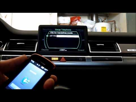 Pair New Phone With Audi Bluetooth MMI 2G