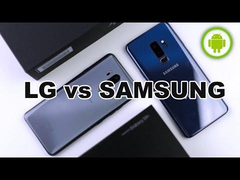 CONFRONTO Samsung Galaxy S9+ vs LG G7 ThinQ: veri top a confronto
