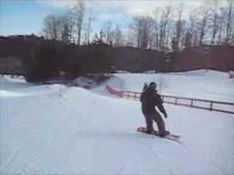 jeff brake snowboarding at caledon