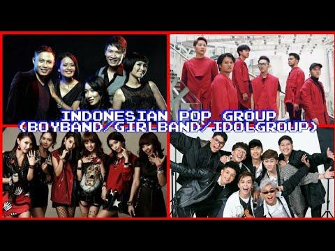 INDONESIAN POP GROUP (Boyband/Girlband/Idol Group) 80's - 2020