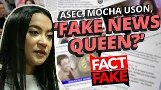 Fact or Fake with Joseph Morong: Mocha Uson, 'Fake News Queen'? | GMA One