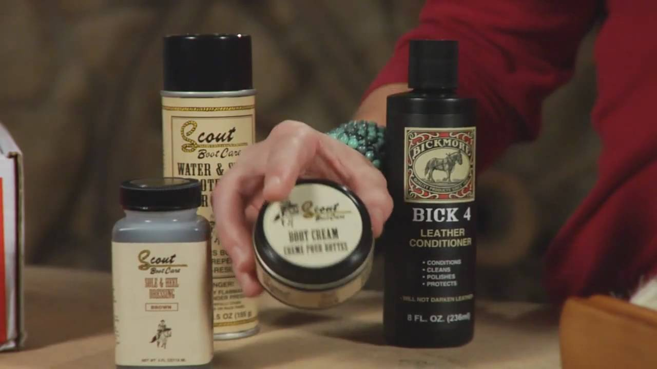 How To Care For Your Cowboy Boots - A Lesson From Sheplers - YouTube