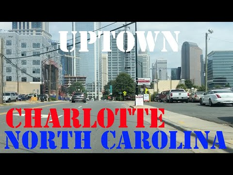 Charlotte - North Carolina - Downtown Drive