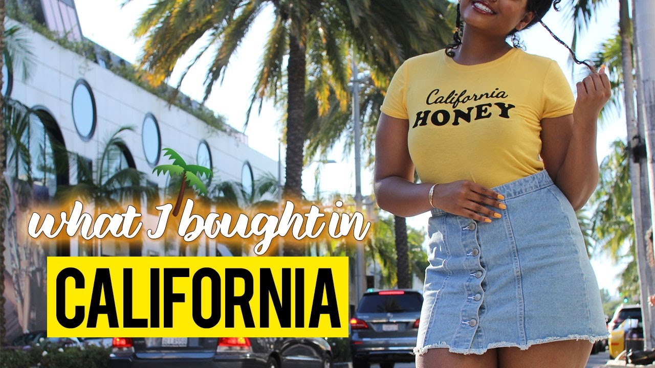 5bf2aeef875b What I Bought in Cali! Try-On Haul   Brandy Melville Rant - YouTube