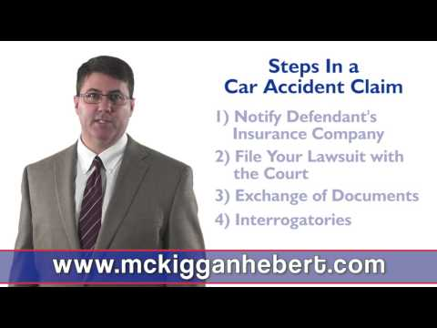 What are the steps in a typical Halifax Nova Scotia car accident claim?
