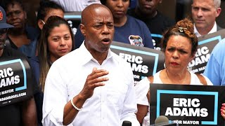 Adams Pledges Public Safety Change If Elected NYC Mayor