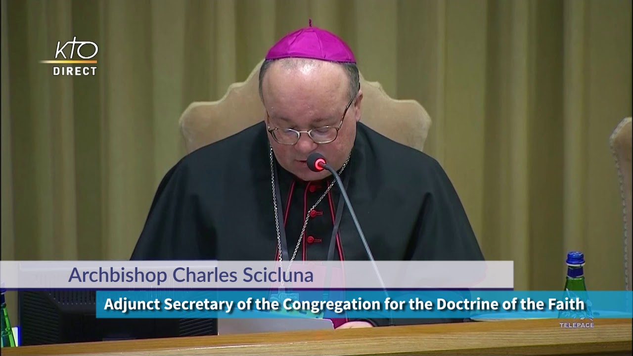 Protection of Minors Summit - Archbishop Charles Scicluna