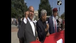 Pakistan News - Pashtuns stage anti Pakistan protest outside UNHRC in Geneva