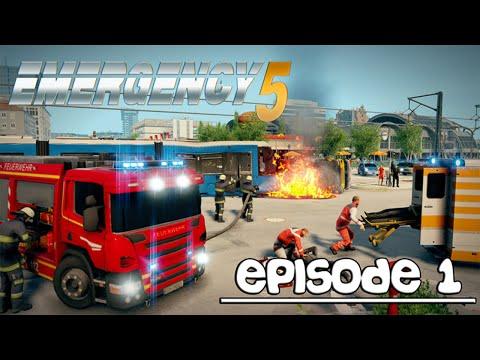 EMERGENCY 5 I LET'S PLAY EPISODE 1 I LE JEU EST GENIAL !