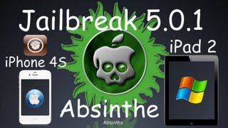 Absinthe Untethered Jailbreak 5.0.1 Firmware For iPhone 4S & iPad 2