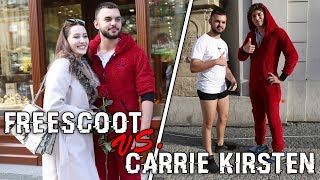 SOCIÁLNÍ EXPERIMENT - FREESCOOT vs. CARRIE KIRSTEN!