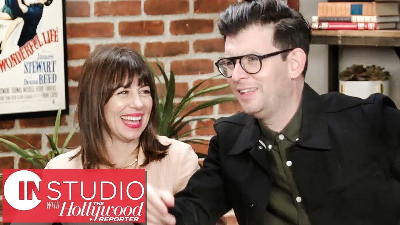 Natasha Leggero & Moshe Kasher on Netflix's 'The Honeymoon Stand-Up Special'   In Studio with THR