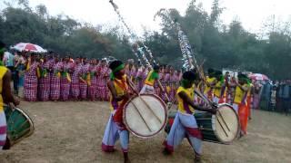 Santali traditional porob enech (dance)