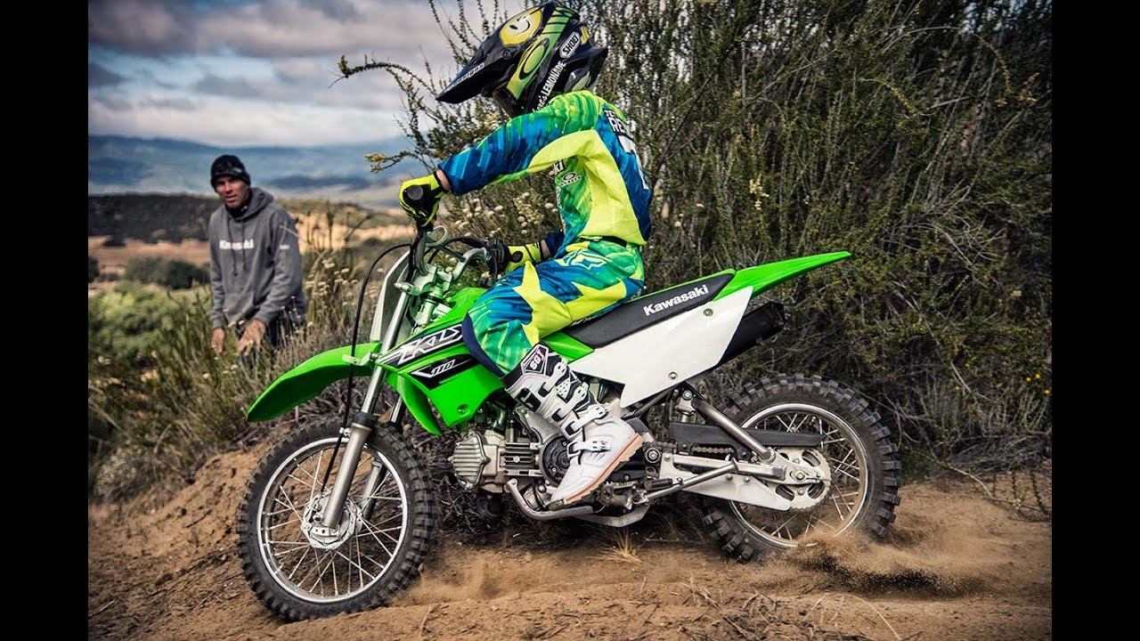 2016 kawasaki klx 110 - youtube
