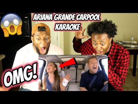 Ariana Grande Carpool Karaoke (REACTION)