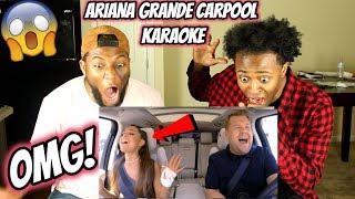 Ariana Grande Carpool Karaoke (REACTION)