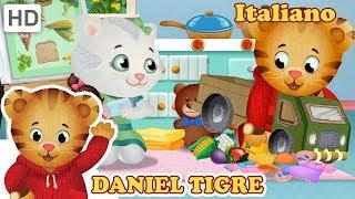Daniel Tiger in Italiano ✏️ Affrontare i Sentimenti a Scuola | Video per Bambini