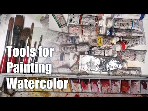 Dynamic Watercolors - My Tools for Painting Watercolor