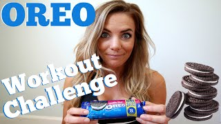 OREO Workout Challenge | How to Burn off One Oreo!
