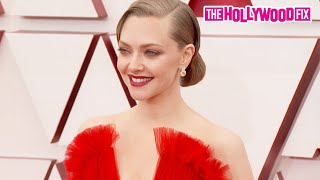 Amanda Seyfried Arrives To The Oscars & Walks The Red Carpet At The 93rd Annual Academy Awards