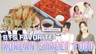 BTS Favorite | KOREAN STREET FOOD EP 1: TTEOKBOKKI AND TWIGIM (feat. Arci Muñoz)