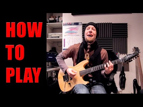 How To Play Feel Good Inc. (metal cover by Leo Moracchioli)