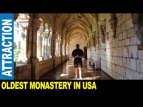 Jarek presents : THE ANCIENT SPANISH MONASTERY TRANSPORTED FROM SPAIN, North Miami Florida USA