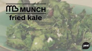Fried Kale Recipe : Michelle Bridges Quick Lunch