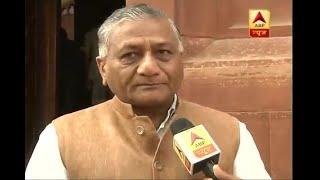 मोसुल में मारे गए 39 भारतीयों पर विदेश राज्यमंत्री वी के सिंह ने कहा, रडार के जरिए शव ढूंढे गए