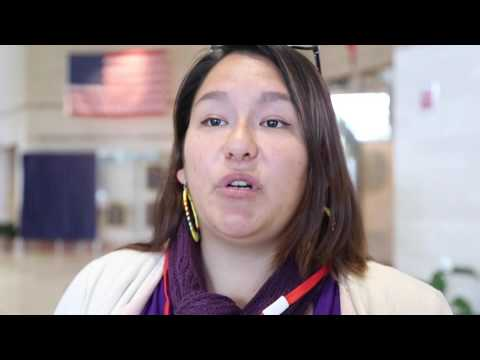 Native American activists deliver petitions to governor's office