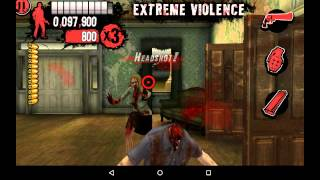 House of the Dead Overkill:Lost Reels プレー動画 A-4「Highway to cave」