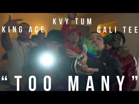 "KVY TUM X CALI TEE X KING ACE ""TOO MANY"" 📽  By Highly MOTAvated Films"