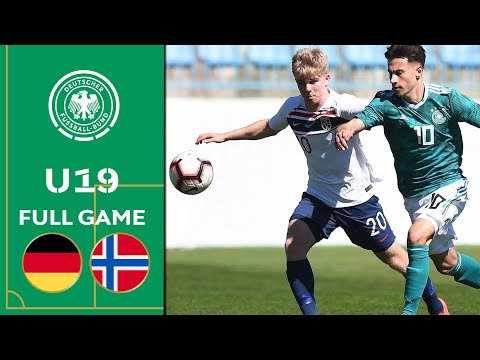 Germany vs. Norway 0-1 | Full Game | U19 Euro Qualifier | Elite Round