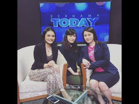 LIFE Hot Yoga ♥ Bernama Today TV Interview ♥  21 Jul 2016