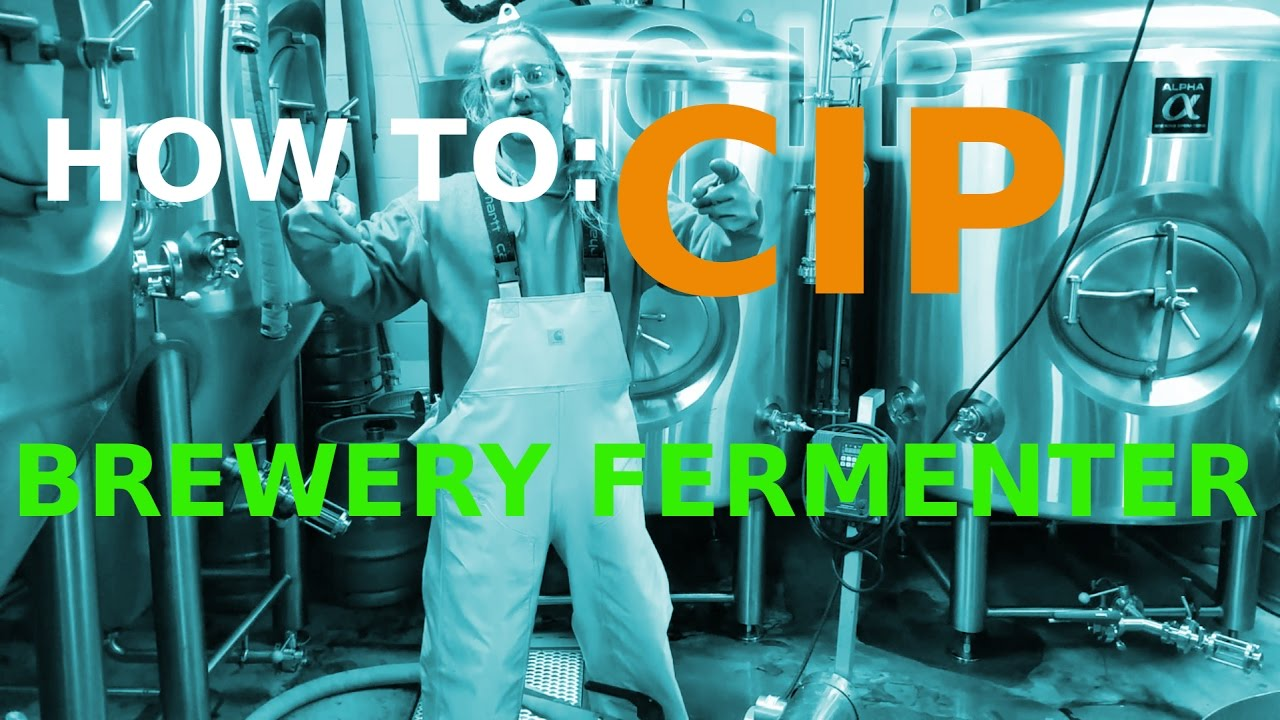 CIP BEER FERMENTER!! How To: MICROBREWERY