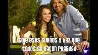 Butterfly fly away - Miley Cyrus feat Billy Ray Cyrus (En Español) + lyrics