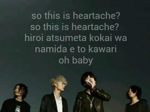 Heartache One Ok RockKaraokeInstrumentallyrics on screen