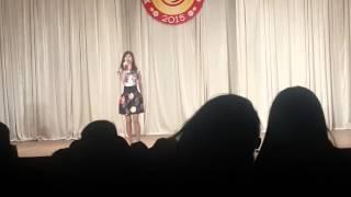 Суанда Карашаева Агу,Студенческая весна 2015 -Давай со мной за звездами