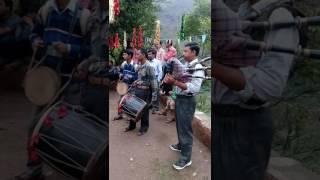 Bagpiper at kumaoni marriage